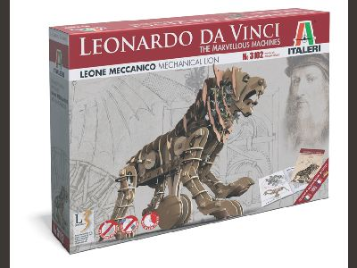 3102  LEONARDO DA VINCI: Mechanical Lion