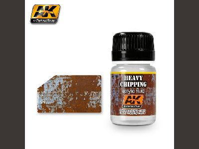 089 HEAVY CHIPPING EFFECTS ACRYLIC FLUID