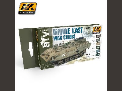 564 MIDDLE EAST WAR VOL.1 COLORS SET