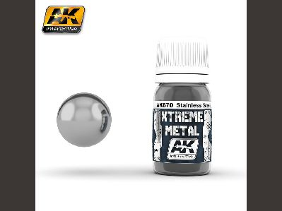 670 XTREME METAL STAINLESS STEEL