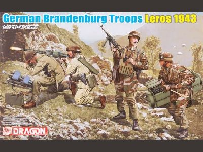6743 German Brandenburg Troops