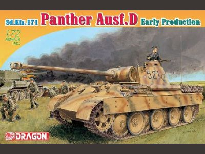 7494 Sd.Kfz.171 Panther Ausf.D Early Production