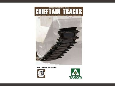 2059    British Main Battle Tank Chieftain Tracks