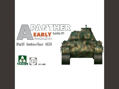 2098    WWII German medium Tank Sd.Kfz.171 Panther A mid-early production,