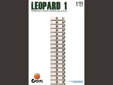 PF-003 Takom 1/35 Leopard 1 Cement-free Workable Track